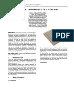 Práctica1 FundamentosElectricos Domingo8DeOctubreDel2017 FormatoIEEE