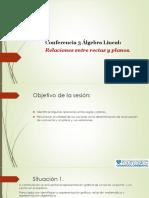 Conferencias Rectas y Planos