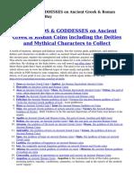 List of GODS & GODDESSES on Ancient Greek & Roman Coins for Sale on eBay