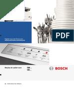 Manualul de Utilizare Bosch SMV40C10EU
