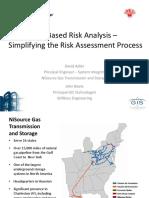 Adler GIS Based Risk Analysis