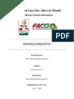 sitemas operativos