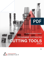 Programme Extensions Cutting Tools