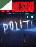 Jo Nesbø - Politi