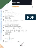Matemática Resoluções fichas avaliação