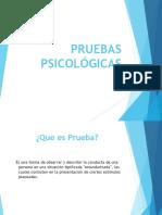 PRUEBAS PSICOLÓGICASalumnos