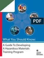 Developing HMT Program Guide