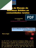 104146456 Guia de Manejo de Residuos en Comunidades Rurales Pptx
