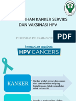 Penyuluhan Kanker Serviks Dan Vaksinasi Hpv