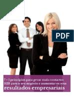7.1 Principios Para Gerar Mais Contactos