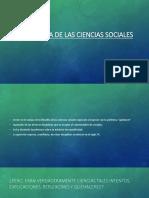 Filosofia de Las Ciencias Sociales