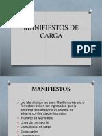 Manifiesto de Carga