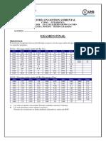 Examen Final 2017 Estadistica
