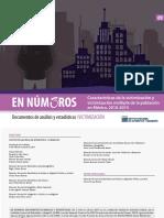 Caracteristicas de La Victimizacion 2010 - 2015