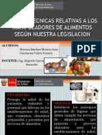 NORMAS TECNICAS RELATIVAS A LOS MANIPULADORES DE ALIMENTOS.pptx