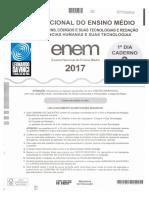 Gabarito extraoficial Enem 2017 - 1º dia