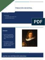 Distribución Binomial Presentacion