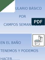 Vocabulario Campos Semanticos
