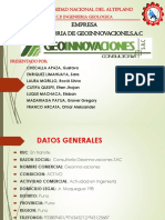 Geoinnovaciones s.a.c.