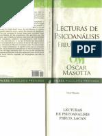 Oscar Masotta 1991 Lecturas de Psicoanalisis Freud Lacan PDF