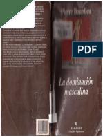 La Dominacion Masculina Pierre Bourdieu