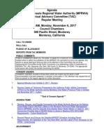 TAC MPRWA Agenda Packet 11-06-17