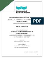 El Futuro de la carrera de Administración en el Perú