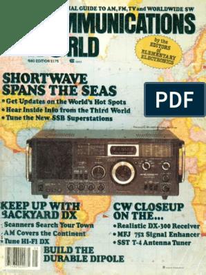 Communications World 1980 | Am Broadcasting | Radio