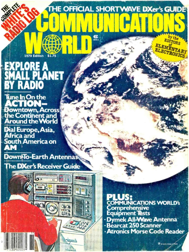 Communications world 1979 very high frequency am broadcasting fandeluxe Gallery