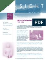 2006 Spring Insight Newsletter 0