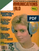 Communications World 1981