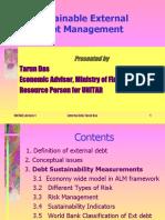 TARUN DAS Lecture External Debt-1