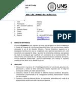 Silabo Estadistica Maestria Gestion Amabiental