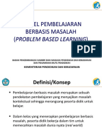 2.2.2 Problem Based Learning