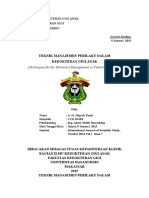 342426071 Teknik Manajemen Perilaku Dalam Kedokteran Gigi Anak