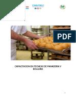 Contenido Elaboracion de Masas en Panaderia