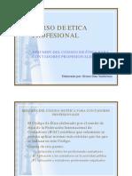 Resumen de Codigo de Etica IFAC