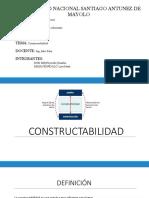 CONSTRUCTABILIDAD construcciones 1