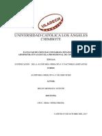 Justificación de La Auditoría Operativa y Factores Limitantes