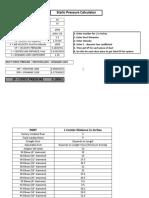 STATIC PRESSURE CALCULATOR.xls