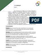 Resolución N° 4 2017-2/ JF-DERECHO
