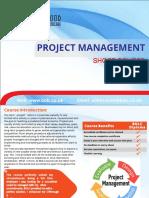442project Management Short Course Brochure