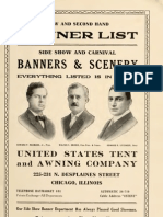 (1910) New and Second Hand Banner List