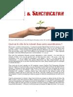 Volonté Sanctification
