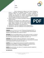 Resolución N° 10 2017-2/JF-F