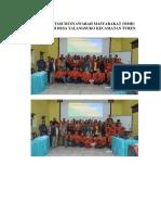 Dokumentasi Musyawarah Masyarakat desa talangsuko
