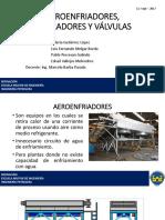 Aeroenfriadores, Separadores y Válvulas(1) Completo