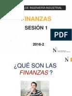 Sesion 1 Introduccion Finanzas