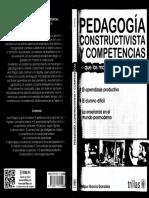 7.Pedagogia Constructivista y Competencias