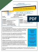 Wyndham Whispers November 2017